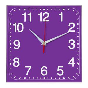 Настенные часы Ideal 849 фиолетовые