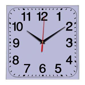Настенные часы Ideal 849 сиреневый светлый
