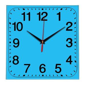 Настенные часы Ideal 849 синий светлый
