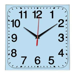 Настенные часы Ideal 849 светло-голубой