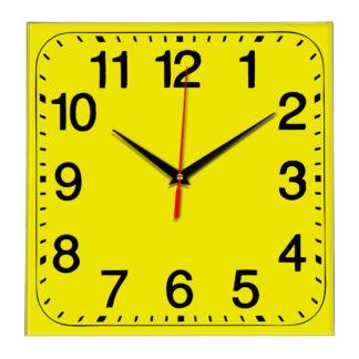 Настенные часы Ideal 849 желтые