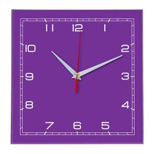 Настенные часы Ideal 850 фиолетовые