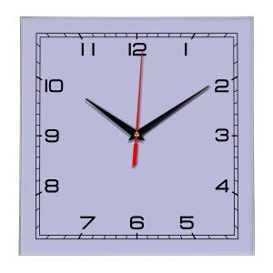 Настенные часы Ideal 850 сиреневый светлый