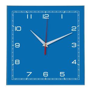 Настенные часы Ideal 850 синий