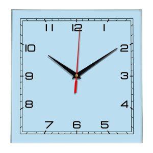 Настенные часы Ideal 850 светло-голубой