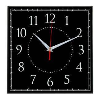 Настенные часы Ideal 851 черные