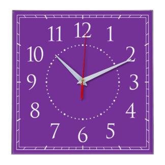 Настенные часы Ideal 851 фиолетовые