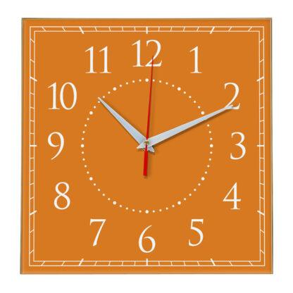 Настенные часы Ideal 851 оранжевый
