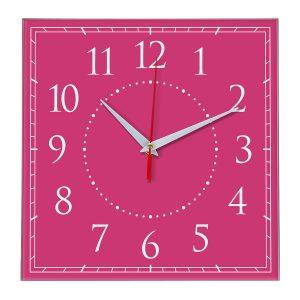 Настенные часы Ideal 851 розовые