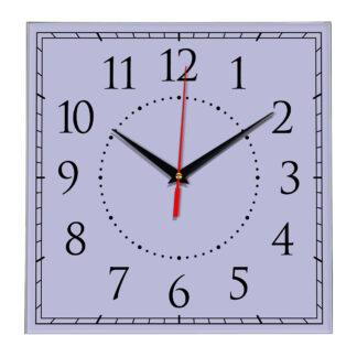 Настенные часы Ideal 851 сиреневый светлый