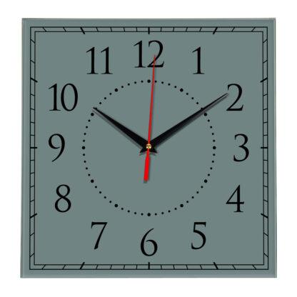 Настенные часы Ideal 851 серо синий