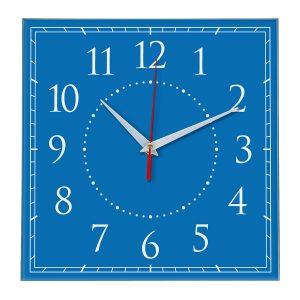 Настенные часы Ideal 851 синий