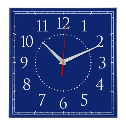 Настенные часы Ideal 851 синий темный