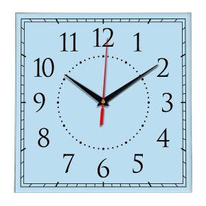 Настенные часы Ideal 851 светло-голубой