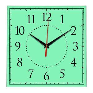 Настенные часы Ideal 851 светлый зеленый