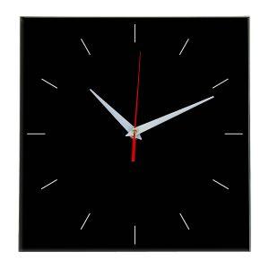 Настенные часы Ideal 852 черные