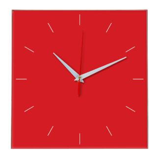 Настенные часы Ideal 852 красный