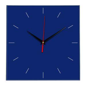 Настенные часы Ideal 852 синий темный