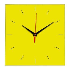 Настенные часы Ideal 852 желтые