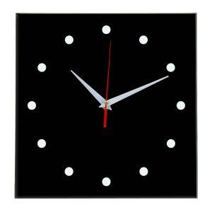 Настенные часы Ideal 853 черные