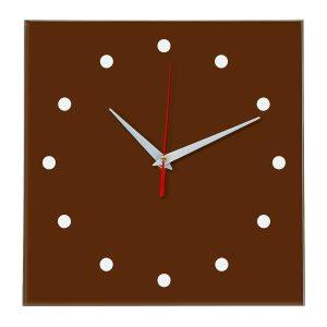 Настенные часы Ideal 853 коричневый