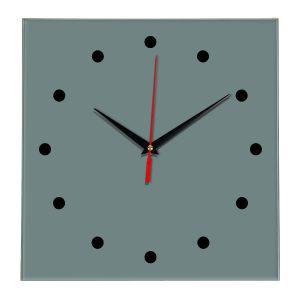 Настенные часы Ideal 853 серо синий