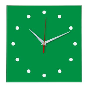 Настенные часы Ideal 853 зеленый
