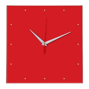Настенные часы Ideal 854 красный