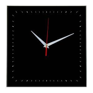 Настенные часы Ideal 855 черные
