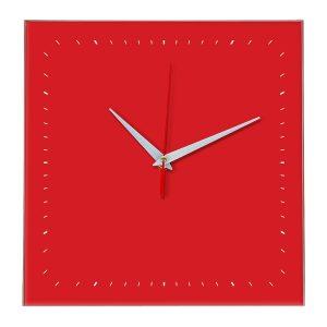 Настенные часы Ideal 855 красный