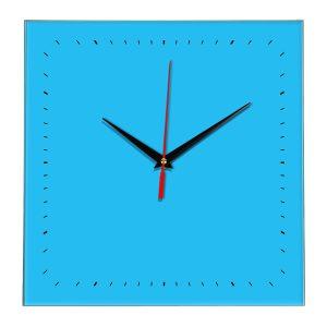Настенные часы Ideal 855 синий светлый