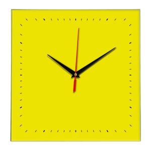 Настенные часы Ideal 855 желтые
