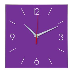 Настенные часы Ideal 856 фиолетовые