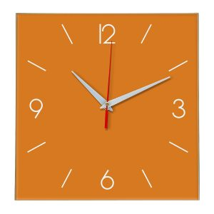 Настенные часы Ideal 856 оранжевый