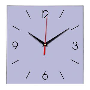 Настенные часы Ideal 856 сиреневый светлый