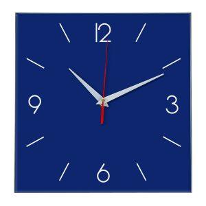 Настенные часы Ideal 856 синий темный
