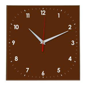 Настенные часы Ideal 857 коричневый