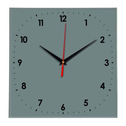 Настенные часы Ideal 857 серо синий