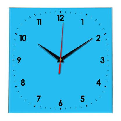 Настенные часы Ideal 857 синий светлый