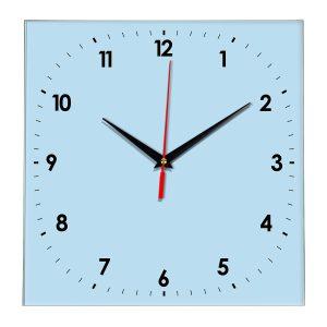 Настенные часы Ideal 857 светло-голубой