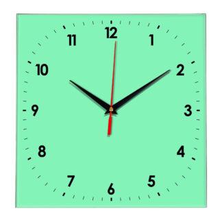 Настенные часы Ideal 857 светлый зеленый