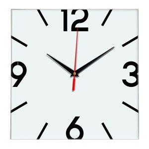 Настенные часы Ideal 858 белые