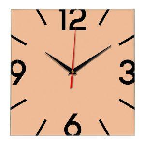 Настенные часы Ideal 858 оранжевый светлый