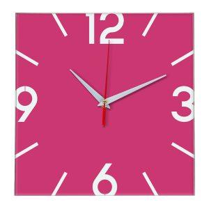 Настенные часы Ideal 858 розовые