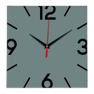 Настенные часы Ideal 858 серо синий