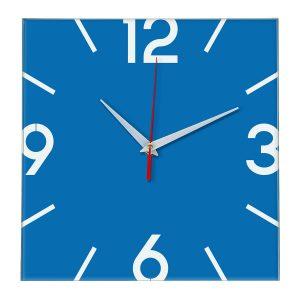 Настенные часы Ideal 858 синий