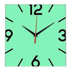 Настенные часы Ideal 858 светлый зеленый
