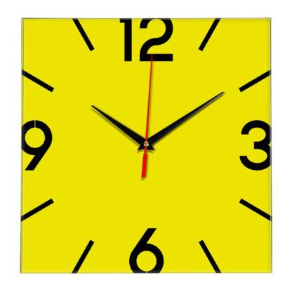 Настенные часы Ideal 858 желтые