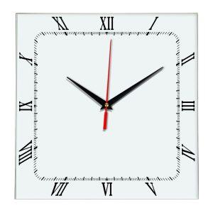 Настенные часы Ideal 866 белые