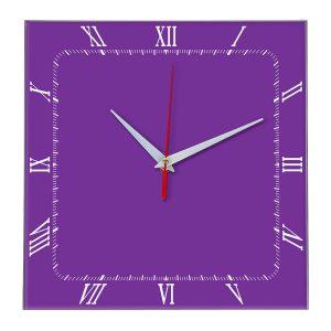 Настенные часы Ideal 866 фиолетовые